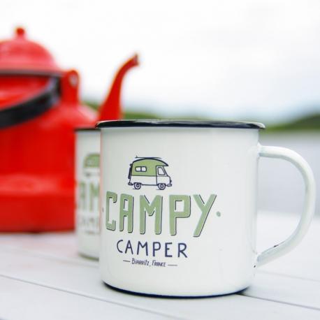 Tasse émaillée Campy Camper