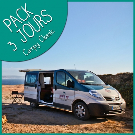Pack 3 jours Campy Camper