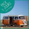 Pack 3 jours Combi VW Vintage
