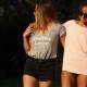T-shirt femme Happier Camper Biarritz en lin