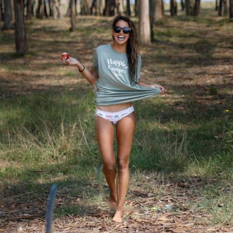 T-shirt femme Happier Camper Biarritz en modal
